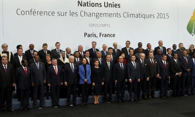 París alcanza acuerdo climático