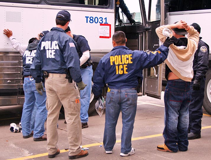 ICE amenaza con deportación masiva de centroamericanos