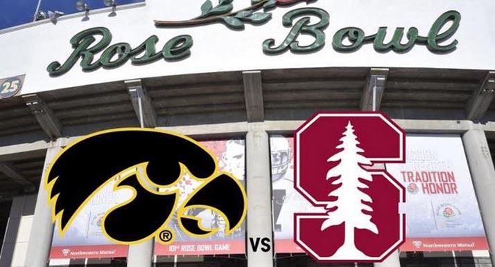 Iowa y Stanford jugarán el Rose Bowl Game 2016