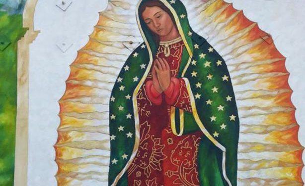Todo listo para las mañanitas a la Virgen de Guadalupe