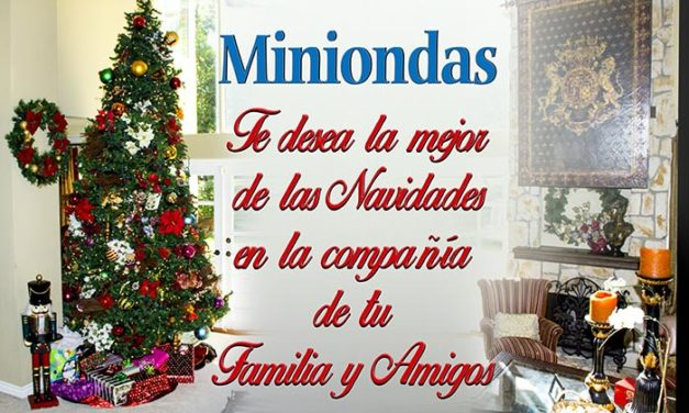 ¡Feliz Navidad y que la Fuerza esté con ustedes! les desea Miniondas a todos sus lectores, seguidores, clientes y amigos