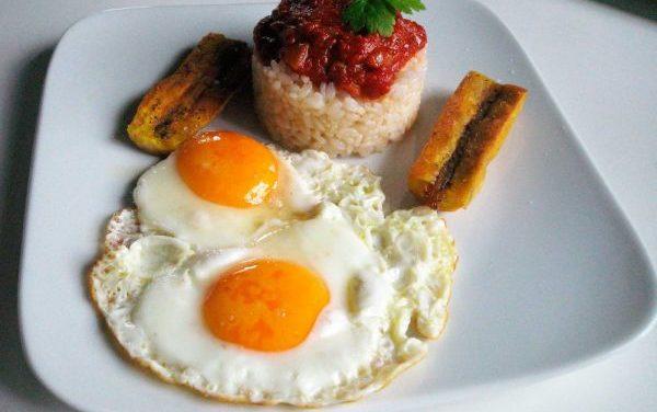 Receta de Huevos a la cubana