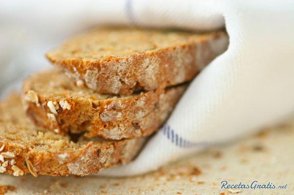 Receta de Pan de zanahoria
