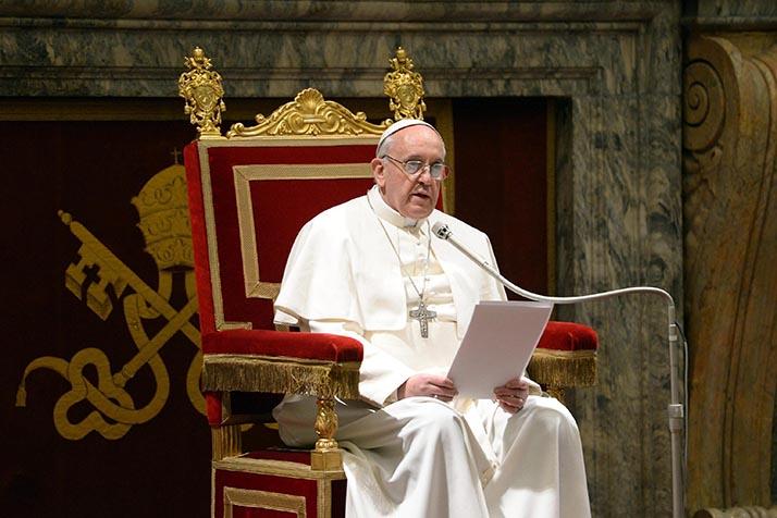 El Papa Francisco visita México en febrero de 2016