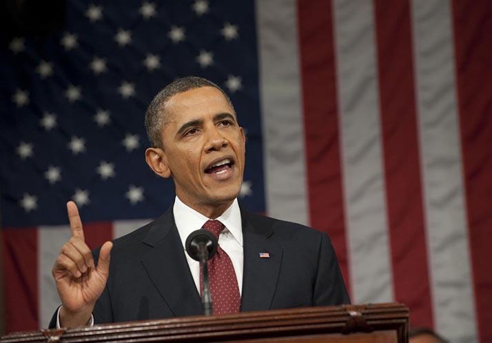 Presidente Obama: «Los E.U. son la nación más fuerte de la tierra. Punto»