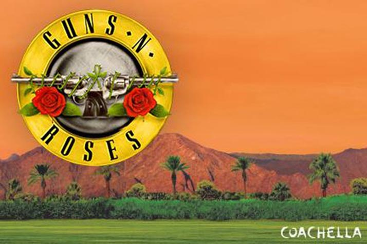 Gun N' Roses confirma dos presentaciones en Coachella Fest