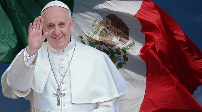 El peregrinaje de Francisco por México