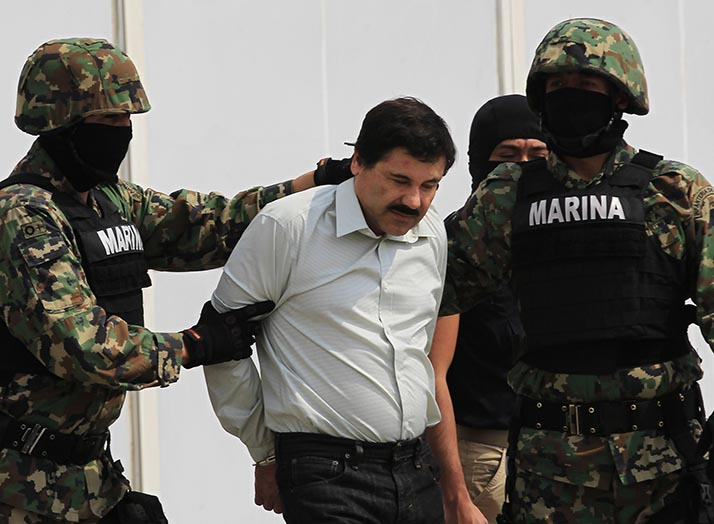 Ultima noticia: Atrapan a 'El Chapo' Guzmán