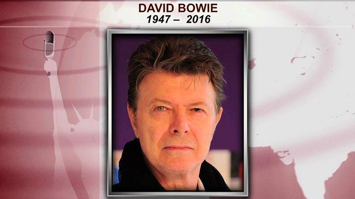Leyenda del pop David Bowie fallece a los 69 años de edad