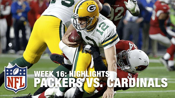 Packers Vs. Cardinals en partido de la NFL