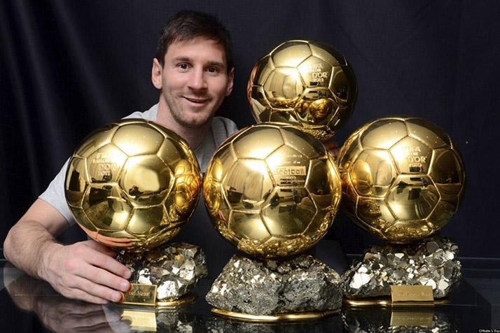 Lionel Messi «Jugador del Año 2015», obtiene el «Balón de Oro» por quinta vez