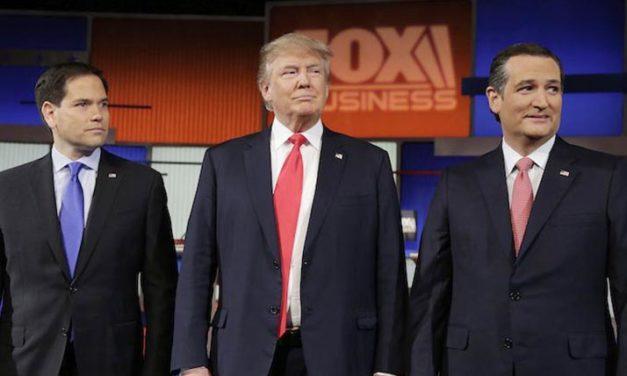 Trump, Cruz y Rubio a la cabeza republicana hacia Iowa y New Hampshire