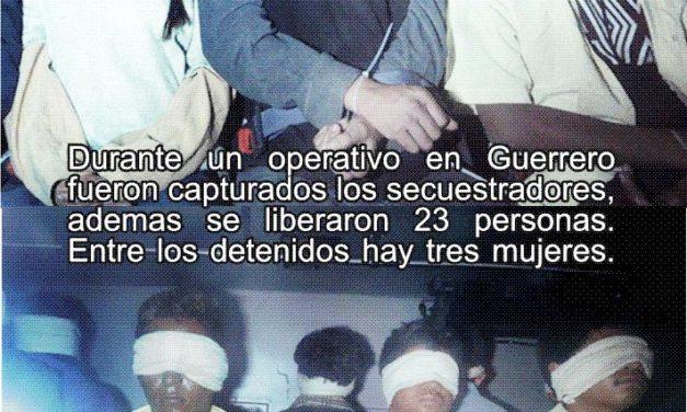 Liberan a 21 de los 26 secuestrados en Arcelia, Guerrero