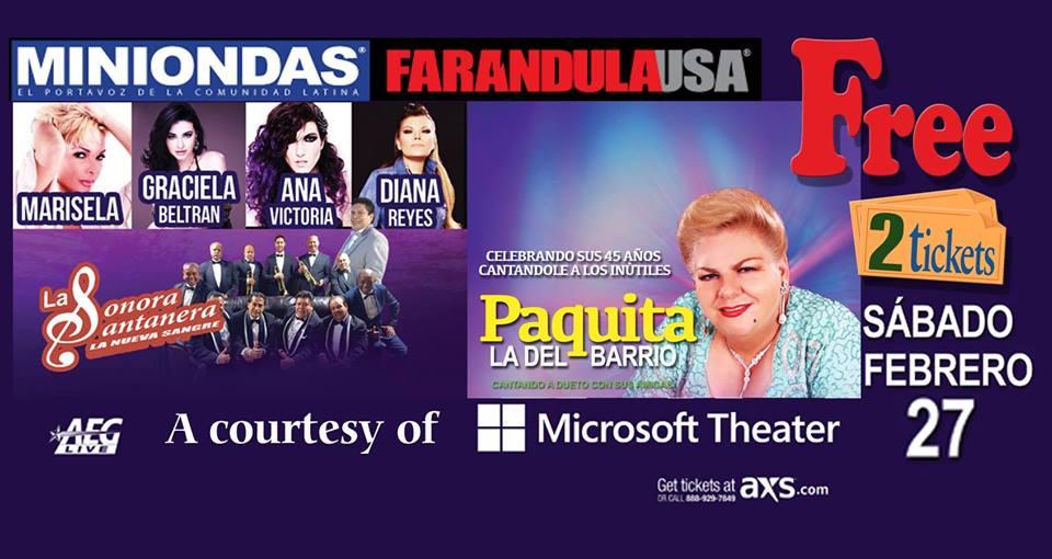 PAQUITA LA DEL BARRIO 45 años de interpretación!