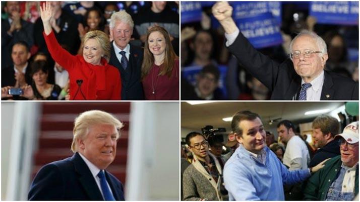El «Supermartes»: Elecciones primarias en 11 estados de la Unión