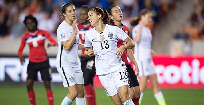 Triplete de Morgan, pone a EE.UU camino a Río 2016