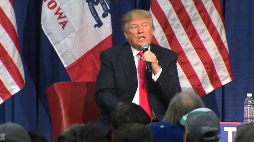 Trump respira por la herida su derrota en Iowa