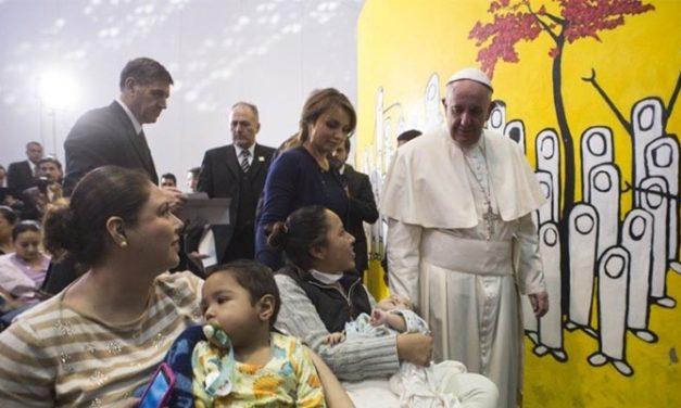 El Papa Francisco causa revuelo en su visita a México