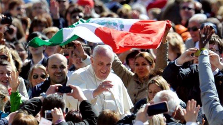 Papa Francisco palpita a México