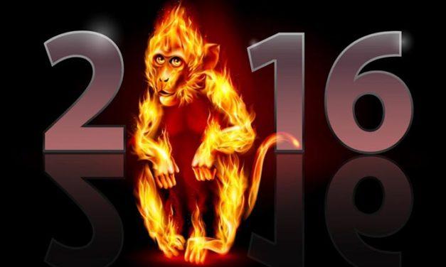 Dio inicio el Año Nuevo Chino: «Año del Mono Rojo de Fuego»