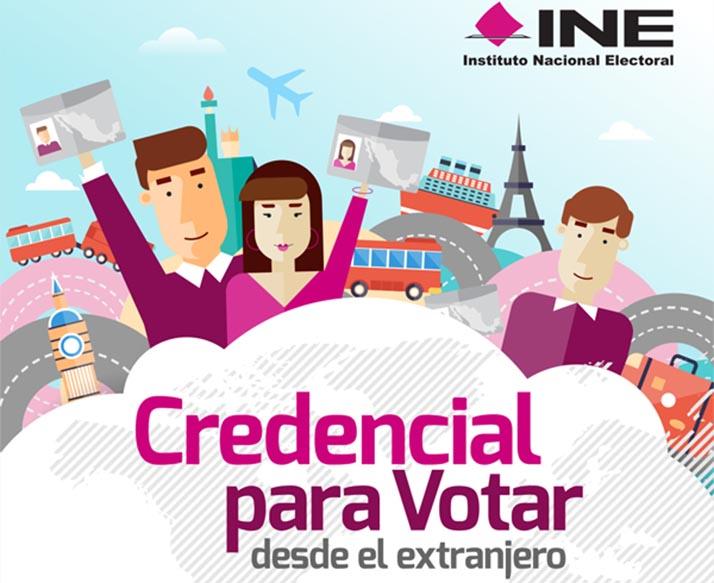 Instituto Nacional Electoral de México inicia expedición de 'Credencial para Votar en el extranjero'