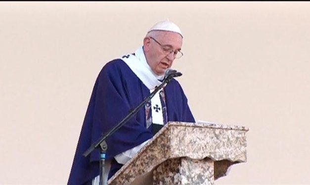 Concluye la histórica visita del Papa Francisco a México