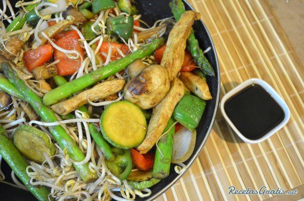 Receta de Teppanyaki de pollo