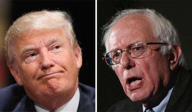 Trump y Sanders arrasan en New Hampshire