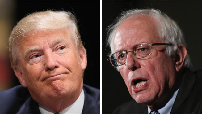 Trump y Sanders arrasan en New Hampshire