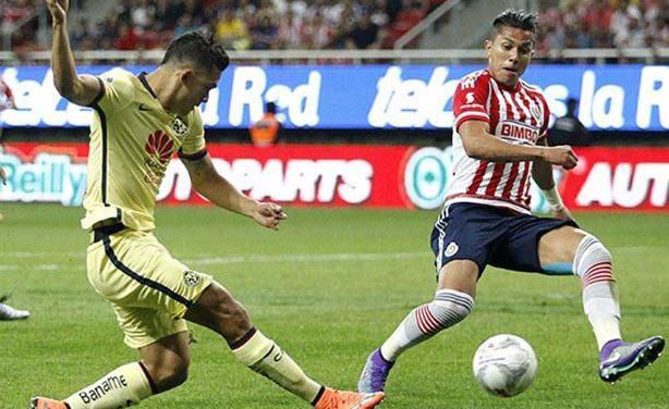 América sale airoso del súper-clásico contra Chivas: 2-1