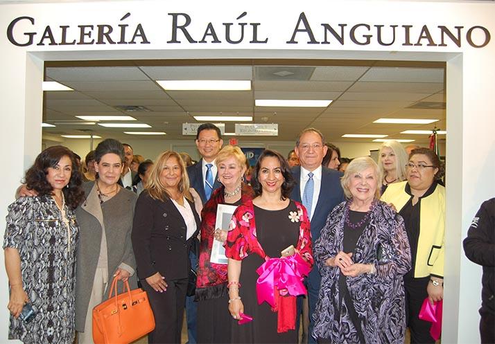 Consulado de México en Santa Ana inaugura en sus instalaciones la galería Raúl Anguiano