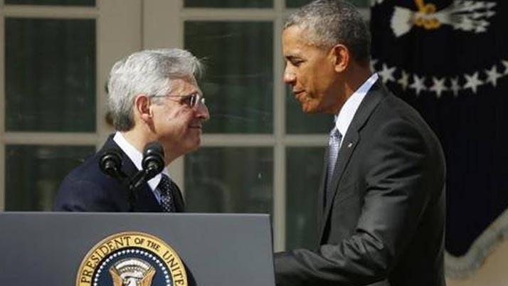 Obama nombra a Merrick Garland como candidato a magistrado de la Corte Suprema