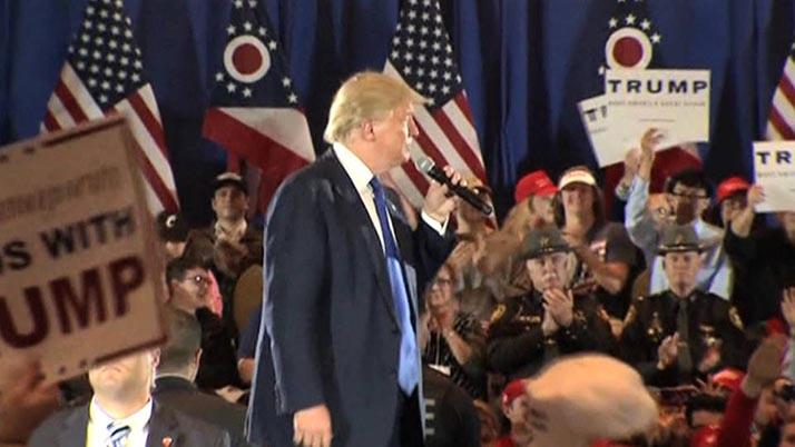 Trump afirma que habrá disturbios si no es nombrado candidato del Partido Republicano