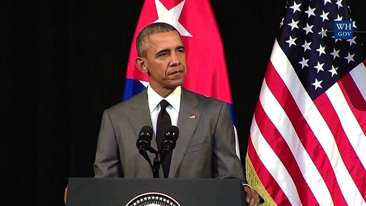 """Obama compara Estados Unidos y Cuba con """"hermanos separados» en discurso al pueblo cubano"""