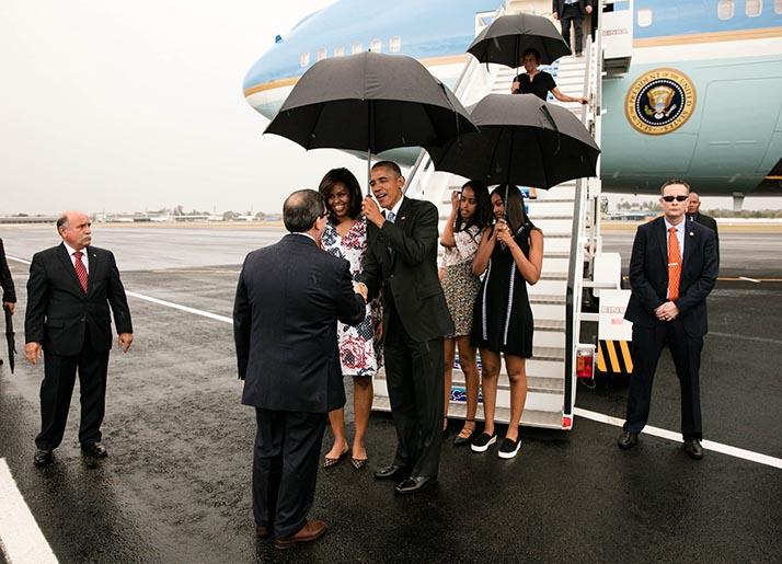 Barack Obama en histórica visita a Cuba