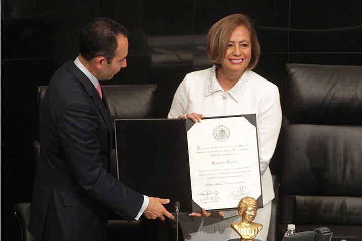 Rosario Marín arremete contra Trump calificándolo de «pragmatismo criminal»