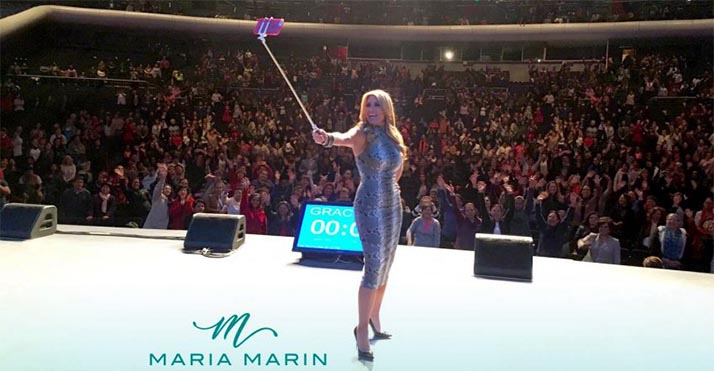 «Crea tu propio destino» seminario de motivación para la mujer de María Marín en Los Angeles