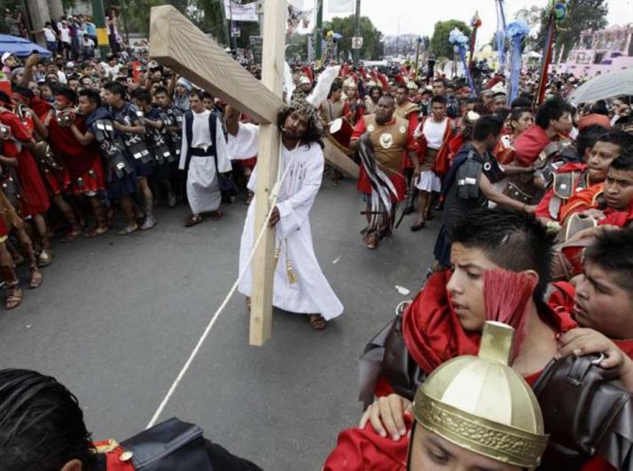 «La Pasión de Cristo» con la Compañía de Teatro GIDAI en Plaza México