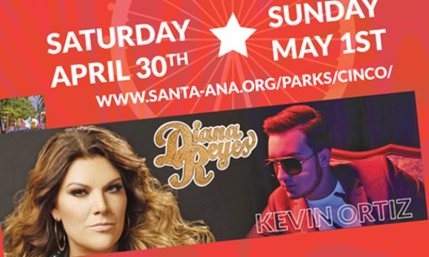 Festival Anual de Cinco de Mayo en la Calle 4 de Santa Ana