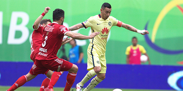 Club América se centró en anotar goles en la Liga de Campeones CONCACAF