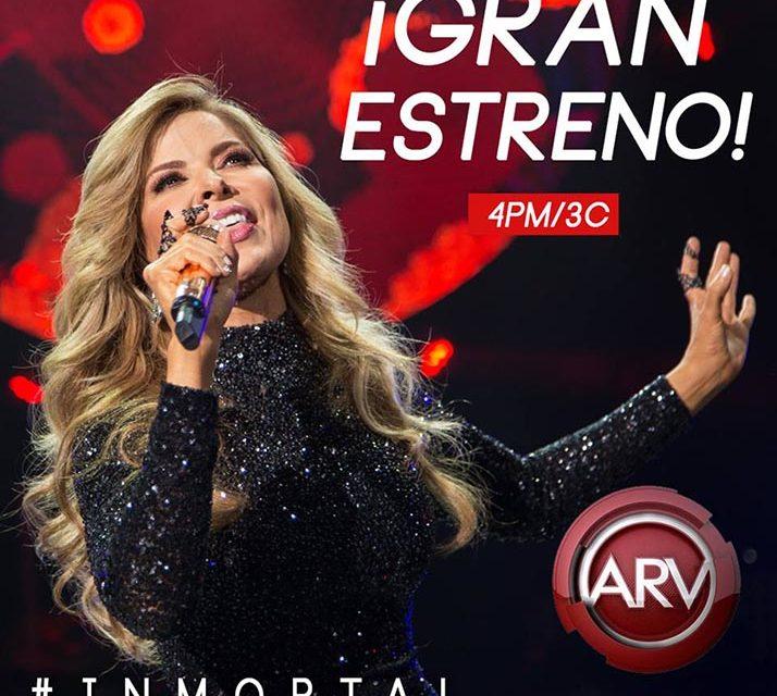 Gloria Trevi Inmortal desde hoy en vídeo