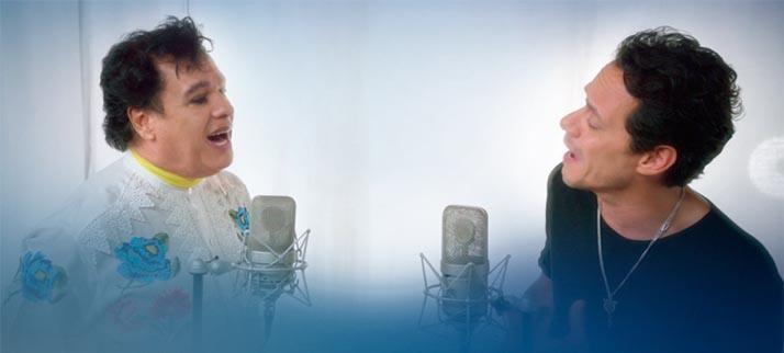Juan Gabriel y Marc Anthony juntos en Los Dúo 2 con el tema «Yo te recuerdo»