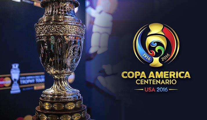 Presentan en Bogotá el trofeo especial de la Copa América Centenario