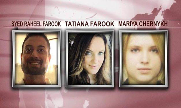Arrestan a tres personas vinculadas a sospechosos de tiroteo en San Bernardino
