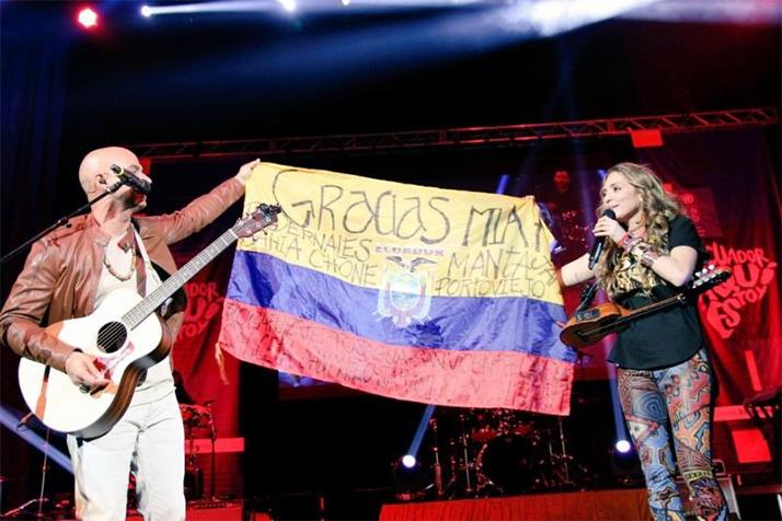 «Ecuador Aquí Estoy»:  Canto por Ecuador en la capital del Sol