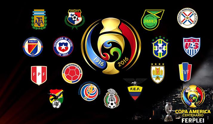 E.U. contra Colombia el partido inaugural de Copa América Centenario 2016