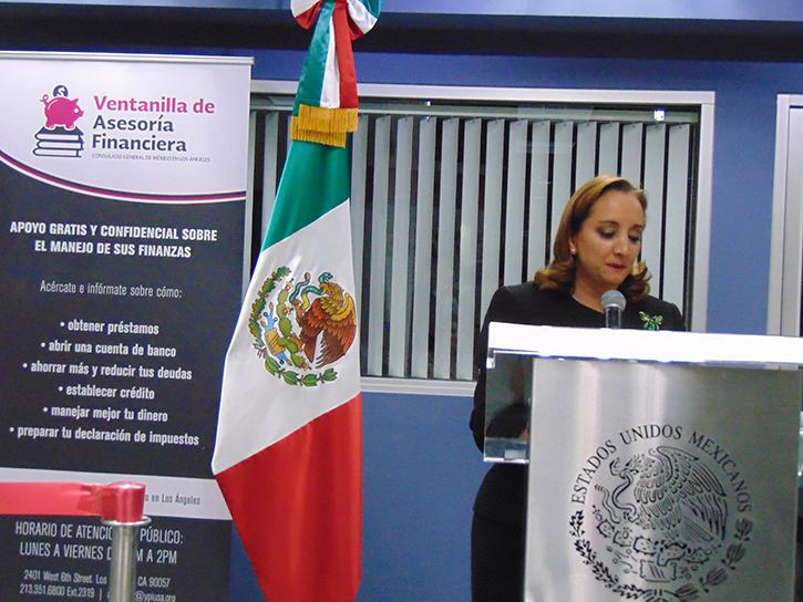 «Venimos a construir puentes, no muros»: Canciller de México Claudia Ruiz Massieu mata en Los Angeles cinco pájaros de una pedrada y hace un «call to action!»