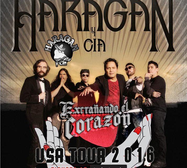 El Haragán y Cía. en su gira «Extrañando el Corazón» por Gringolandia