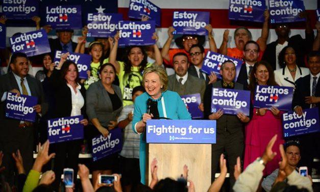 Hillary inicia su campaña en California en el Este de Los Angeles