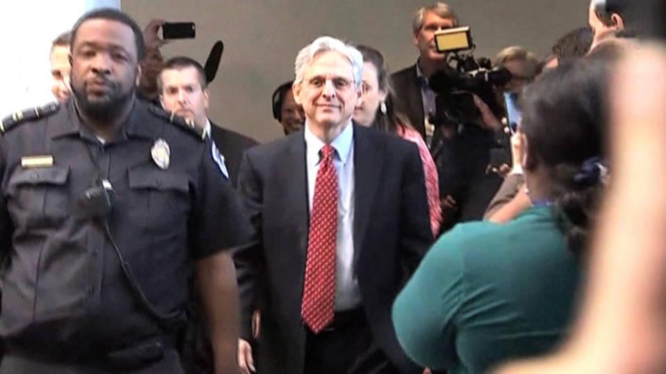 Senado realiza simulacro de audiencia de confirmación para Merrick Garland